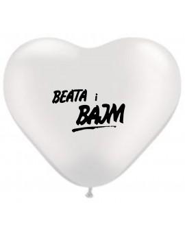 Balony // logo Beata i Bajm