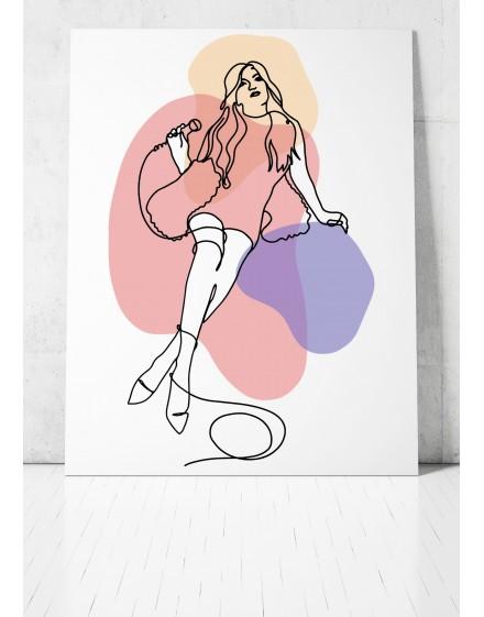 Plakat // Beata OneLine